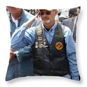 Welcome Home Brother Throw Pillow