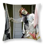 Welcome To Key West Neighbor Throw Pillow