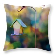 Welcome Neighbor - Digital Art Throw Pillow
