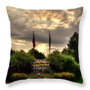 Welcome To Andrews North Carolina Throw Pillow