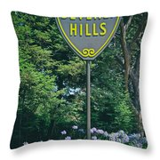 Welcome To Beverly Hills Throw Pillow