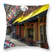 Welcome To Cripple Creek  Throw Pillow