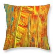 Welcome To Heavens Gate Throw Pillow