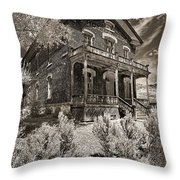 Welcome To Hotel Meade Throw Pillow
