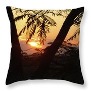 Welcome To Jamaica 7 Rise   Throw Pillow