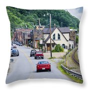 Welcome To Marshall Throw Pillow