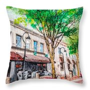 Welcome To Naperville Illinois Throw Pillow