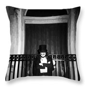 Welcome To Night In New Orleans  Throw Pillow