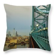 Welcome To Philly Throw Pillow