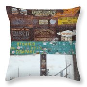 Welcome To Recluse Throw Pillow