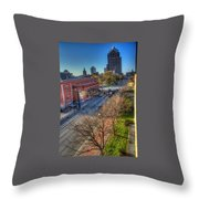 Welcome To Rochester Throw Pillow