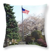Welcome To Saugus Throw Pillow