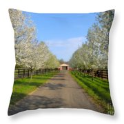 Welcome To The Farm Throw Pillow