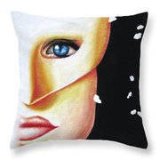 Welcome To The Masquerade Throw Pillow