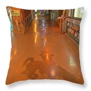 Welcome To Wyoming Throw Pillow