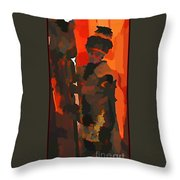 Welcome To Your Nightmare Throw Pillow