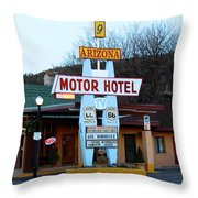 Welcome Travelers Throw Pillow