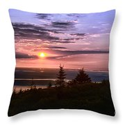 Welcoming A New Day Throw Pillow