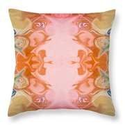 Welcoming New Life Abstract Healing Artwork By Omaste Witkowski Throw Pillow