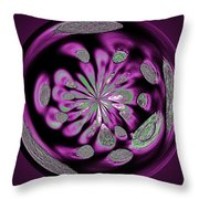 Welding Rods Abstract 5 Throw Pillow