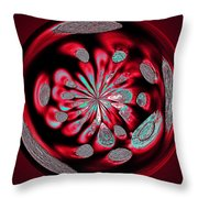 Welding Rods Abstract 6 Throw Pillow