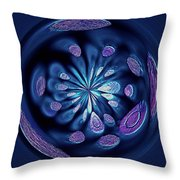 Welding Rods Abstract 7 Throw Pillow