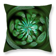 Welding Rods Abstract 8 Throw Pillow