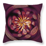 Welding Rods Abstract 9 Throw Pillow