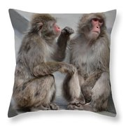 We'll Be All Right Throw Pillow
