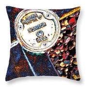 Well Monitor Throw Pillow