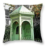 Well Of The Three Brothers Throw Pillow