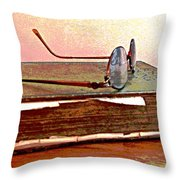Well Read Throw Pillow