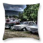 Well Used Cars For Sale Throw Pillow