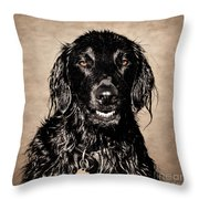 Well You Did Ask For My Best Portrait Smile Throw Pillow
