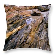 Well's Beach Throw Pillow