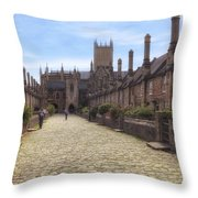 Wells Throw Pillow by Joana Kruse