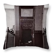 Wells Street Old Town Chicago Throw Pillow