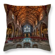 Welsh Cathedral  Throw Pillow