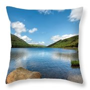 Welsh Lake Throw Pillow