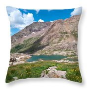Weminuche Wilderness Area Landscape Throw Pillow