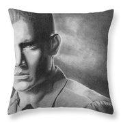 Wenworth Miller Throw Pillow