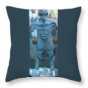 We're Here  Throw Pillow