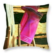 Were Made For Walking.. Throw Pillow