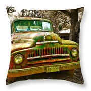 We're Not In Kansas Anymore Throw Pillow