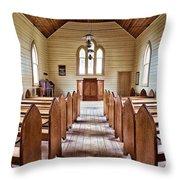 Wesleyan Methodist Church Throw Pillow