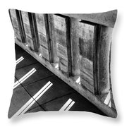 West Balcony Throw Pillow