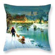 West Bank Throw Pillow