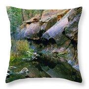 West Branch Oak Creek Throw Pillow
