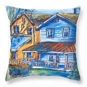 West Cape May Nj Throw Pillow