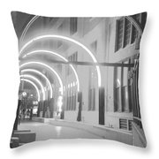 West End Archway Dallas Texas Throw Pillow